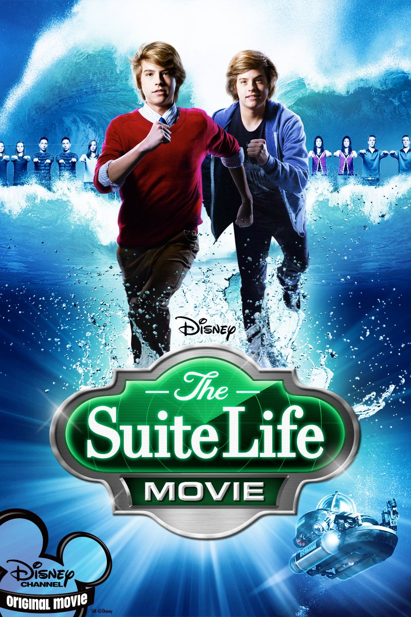 "Poster for the movie ""The Suite Life Movie"""