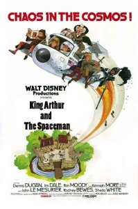 "Poster for the movie ""The Spaceman and King Arthur"""