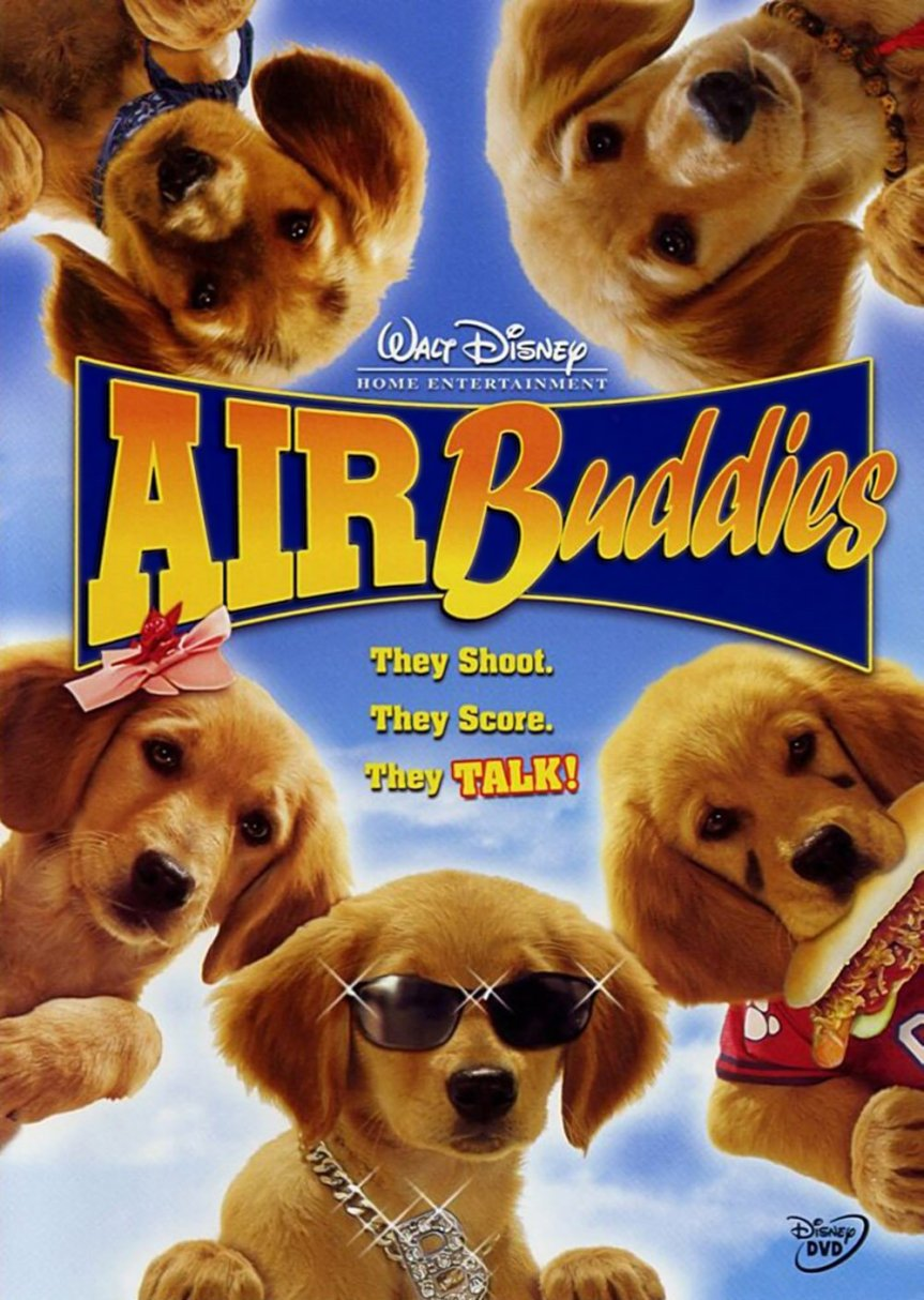"""Poster for the movie """"Air Buddies"""""""