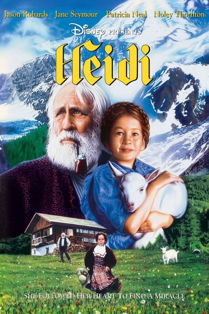 """Poster for the movie """"Heidi"""""""