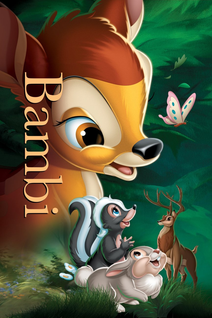 "Poster for the movie ""Bambi"""