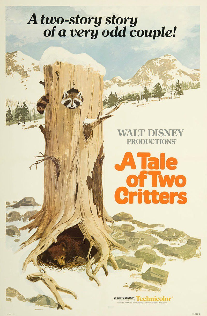 "Poster for the movie ""A Tale of Two Critters"""