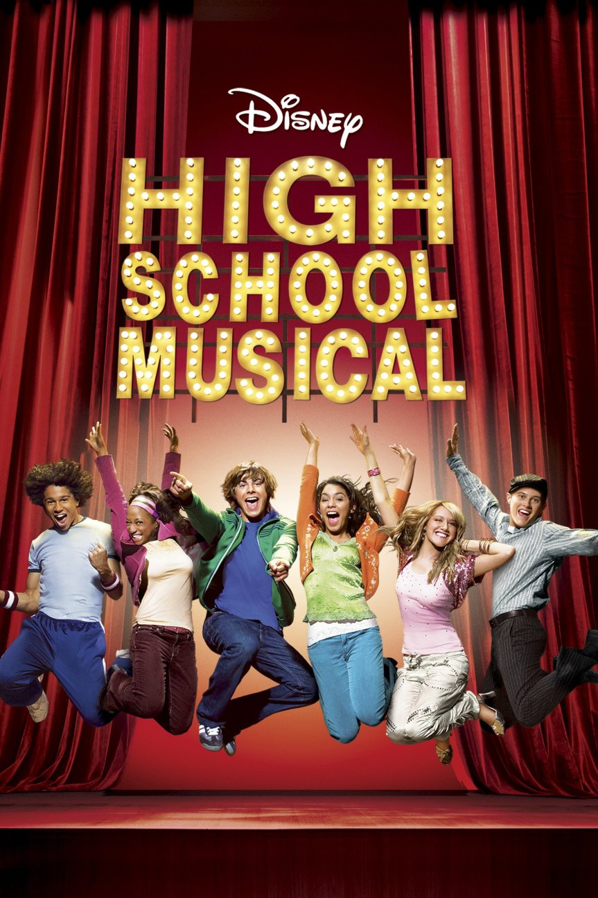 "Poster for the movie ""High School Musical"""