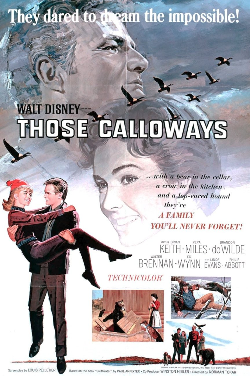 "Poster for the movie ""Those Calloways"""