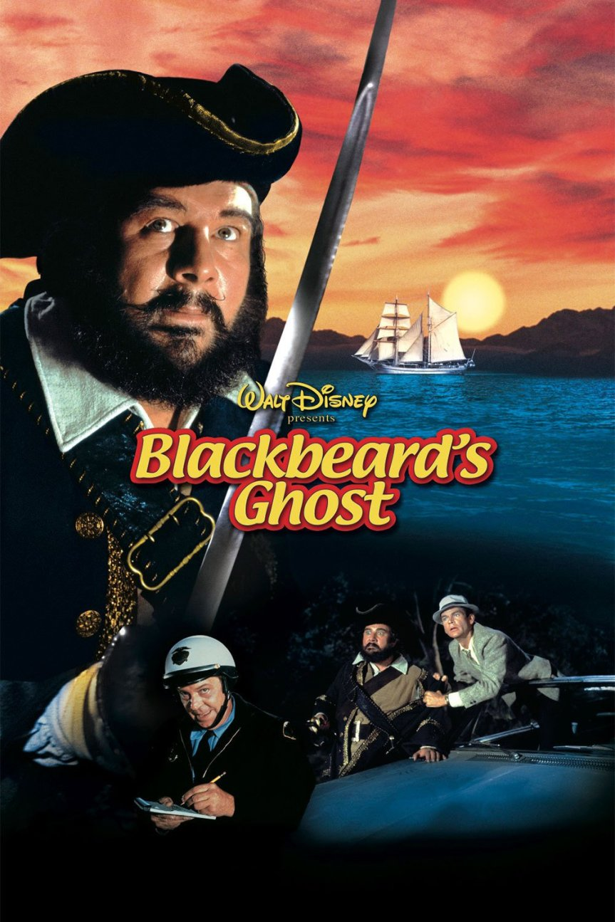 "Poster for the movie ""Blackbeard's Ghost"""