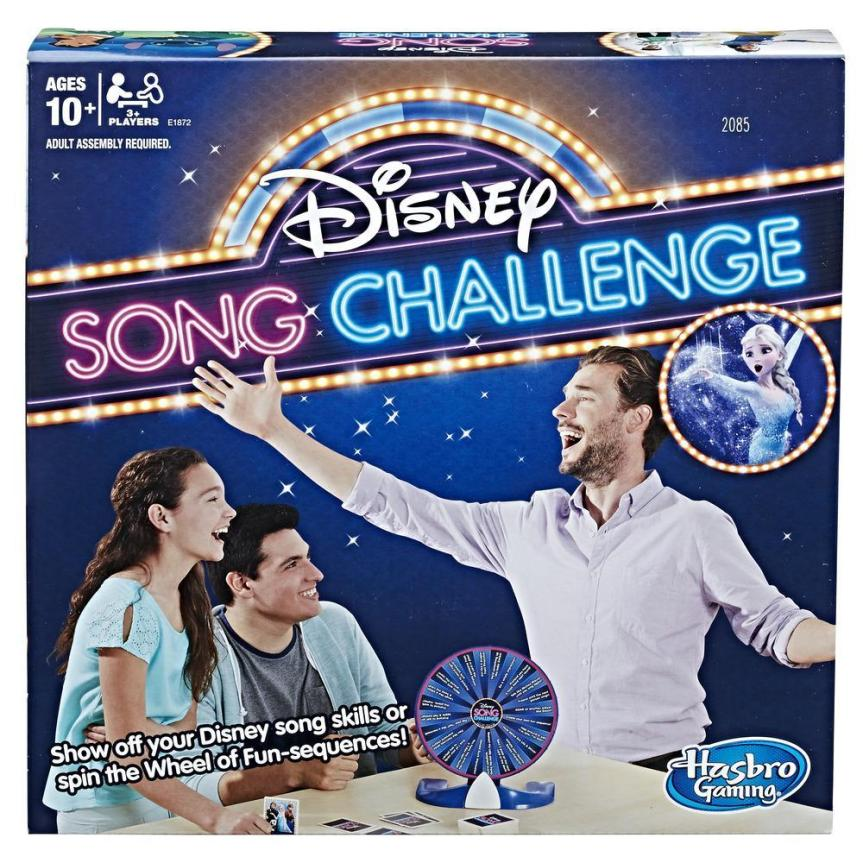 """Disney Singing Fun and Laughs with Hasbro's """"Disney Song Challenge"""" Party Game"""