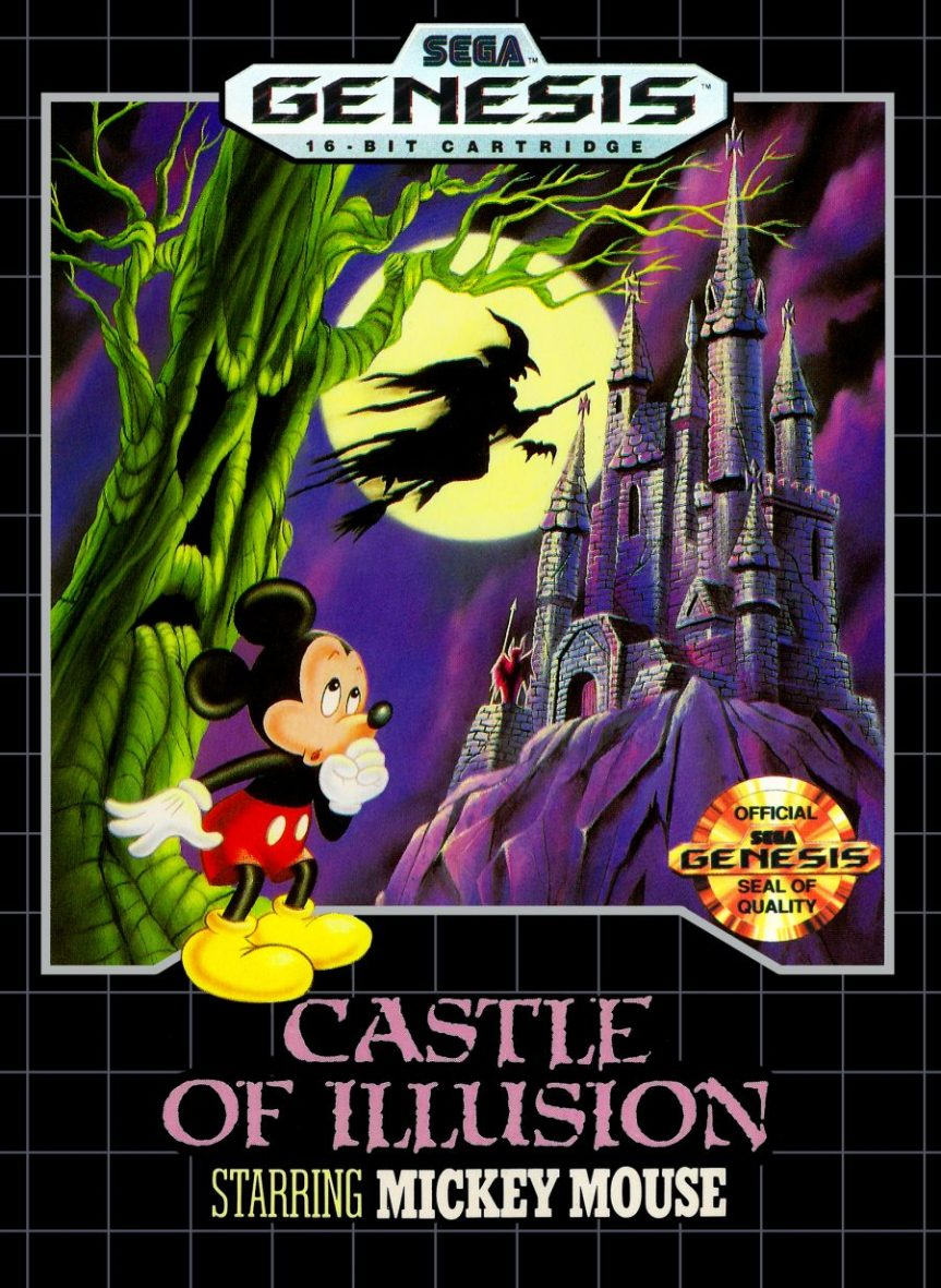 "List of Entries in the ""Illusion"" Series, and Other Disney Videogames Made by Sega"