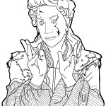 Mother Ginger – The Nutcracker and the Four Realms Coloring Pages