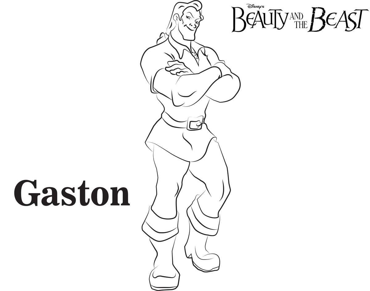It is a graphic of Dynamite gaston coloring page