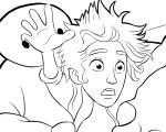 Hiro and Baymax – Big Hero 6 Coloring Pages