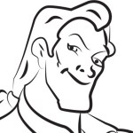 Gaston – Beauty and the Beast Coloring Pages