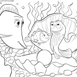 Gurgle – Finding Nemo Coloring Pages