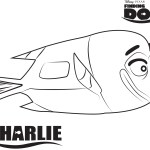 Charlie – Finding Dory Coloring Pages