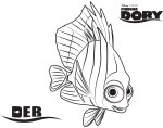 Deb – Finding Dory Coloring Pages