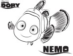 Nemo - Finding Dory Coloring Pages