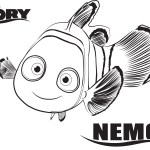 Nemo – Finding Dory Coloring Pages