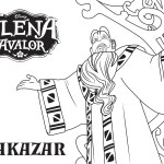 Alakazar – Elena of Avalor Coloring Pages