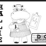 Hallie – Doc McStuffins Coloring Pages