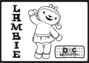 Doc Mcstuffins Coloring Pages Disney Movies List