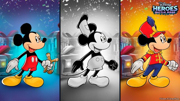List of Disney Mobile Games and Apps Celebrating Mickey Mouse's 90th Anniversary