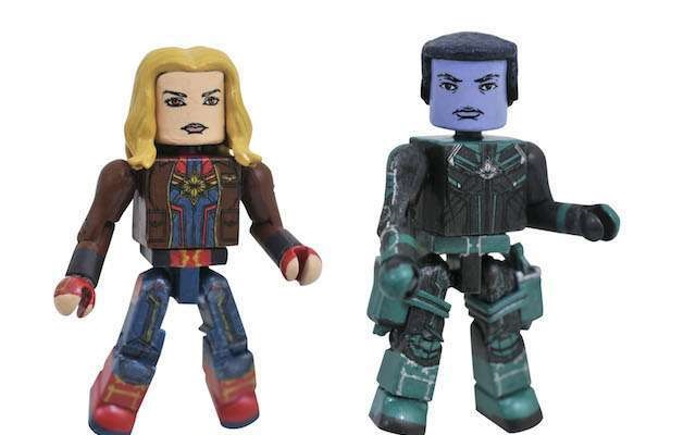 "List of Licensed Toy Tie-Ins for MCU ""Captain Marvel"" from Diamond Select Toys"