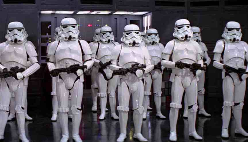 "List of Notables that Cameoed as Stormtroopers in ""Star Wars"""