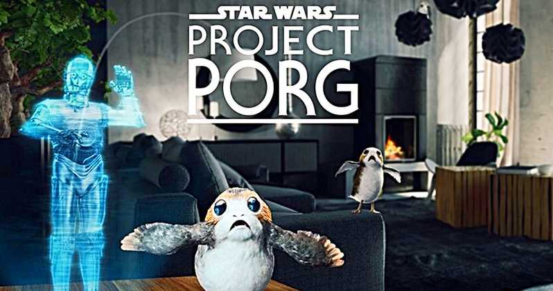 "First Trailer for ILMxLAB's ""Star Wars: Project Porg"" VR Experience on Magic Leap One"