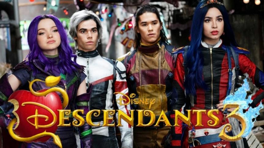 "New Character List for Disney Channel's ""Descendants 3"""