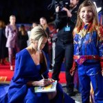"Sweet and Empowering Moments in London Premiere of ""Captain Marvel"""