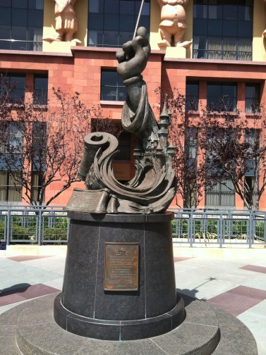 A replica of this statue is given to all the Disney Legends
