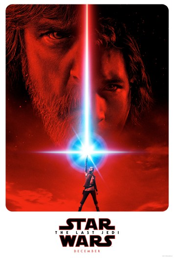 Teaser poster for the upcoming The Last Jedi