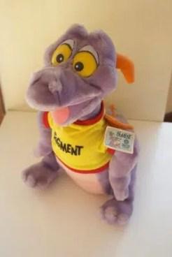 1982 Epcot Center's Figment Purple Dragon Stuffed Animal