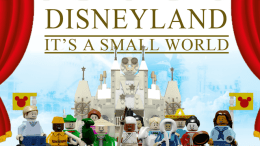 Disney LEGO Its a Small World Set