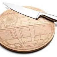 Death Star Wood Cutting Board