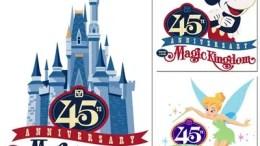 Disney Magic Kingdom 45th anniversary