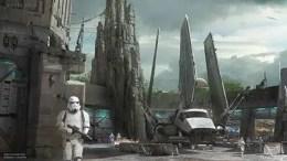 Disneyland star wars land