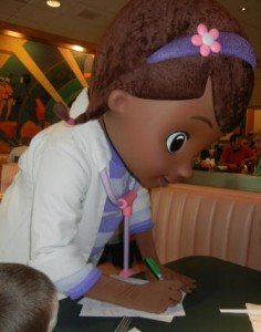 Doc McStuffins Disney Junior Characters in Disney World