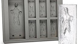 star wars kitchen Han Solo in Carbonite Silicone Ice Cube Tray Mold
