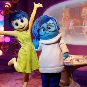 Joy and Sadness from 'Inside Out' Now Appearing at EPCOT