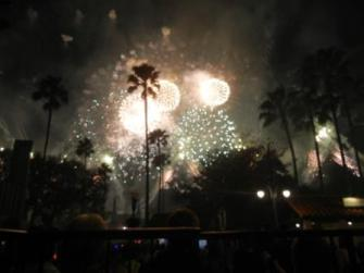 Star Wars Fireworks Disney Hollywood Studios
