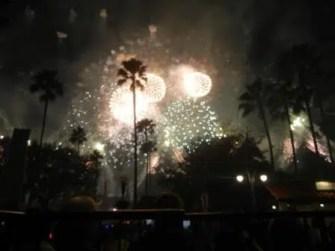 Star Wars Fireworks Disney Hollywood Studios