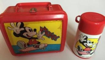 Vintage Mickey Mouse Lunchbox from the 80s