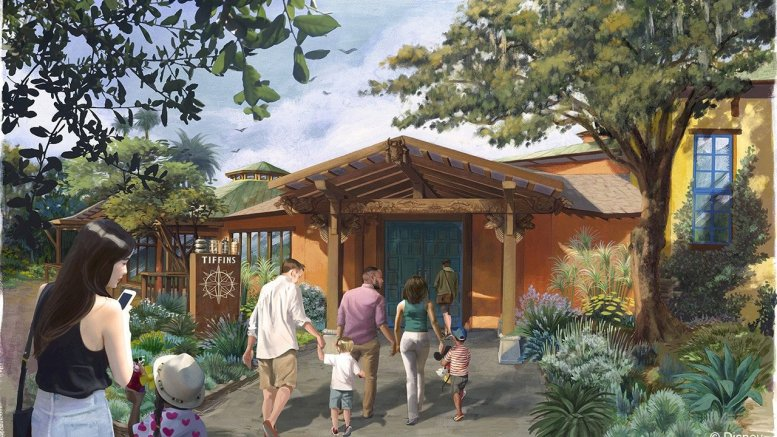disney animal kingdom new restaurant