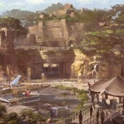 Disney Adds Star Wars Land Concept Art on Hollywood Studios Construction Walls