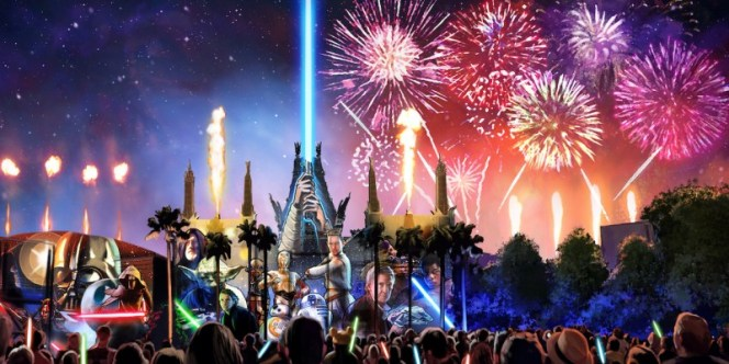 Star Wars A Galactic Spectacular Disney