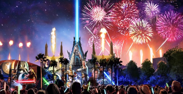 Star Wars A Glactic Spectacular Disney