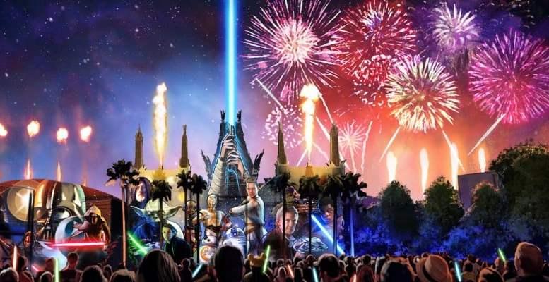 Star Wars A Glactic Spectacular Disney