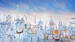 its a small world ride disneyland