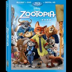 zootopia blu ray release