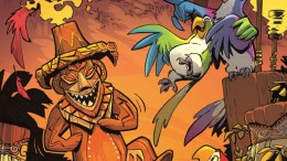 disney enchanted tiki room comic book series cover
